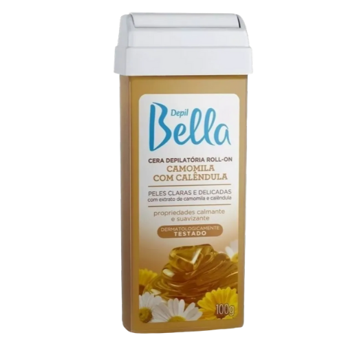 Cera Depill Bella  Roll-on Camomila 100g