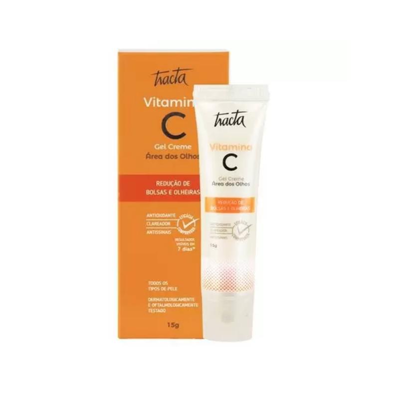Gel Creme para Olhos Tracta Vitamina C 15g