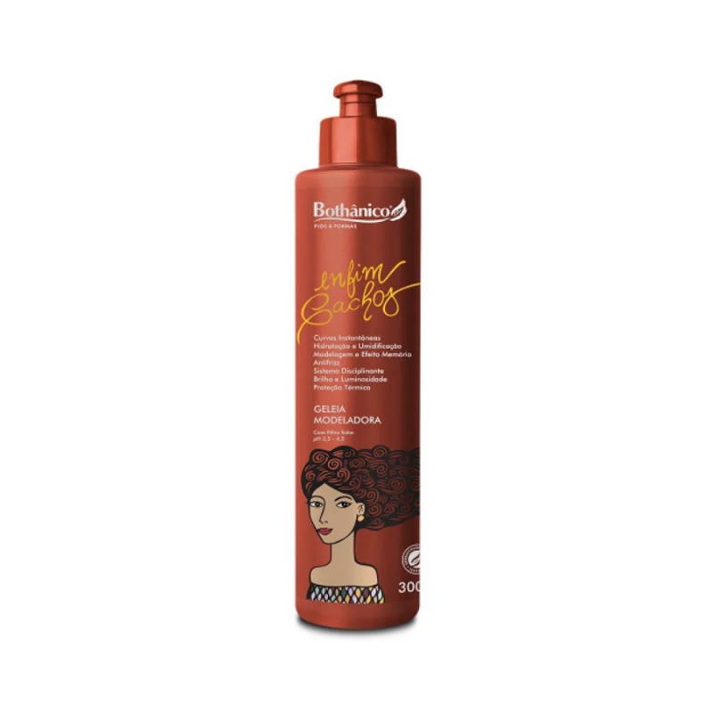Geleia Modeladora Bothânico Hair Enfim Cachos 300ml