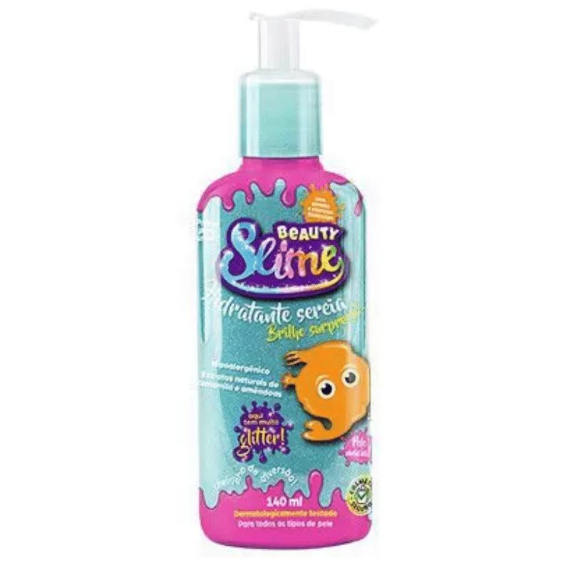 Hidratante Beauty Slime Glliter Azul 140ml