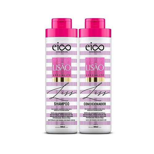 Kit Eico Lisão Spécialité Shampoo + Condicionador 800ml