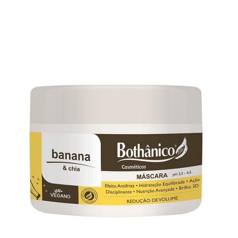 Máscara Bothânico Hair Banana E Chia 250g