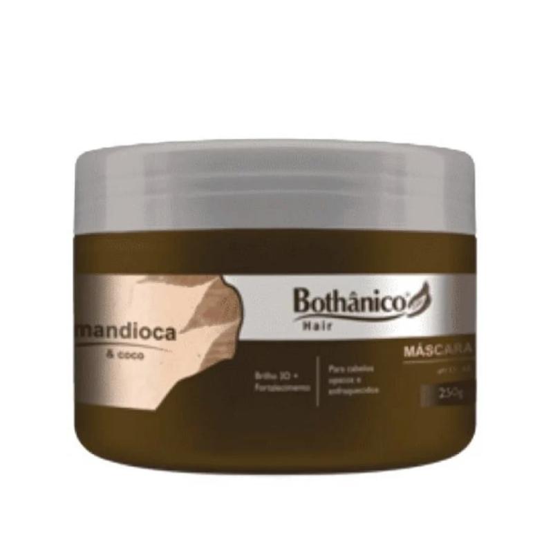 Máscara Bothânico Hair Mandioca E Coco 250g