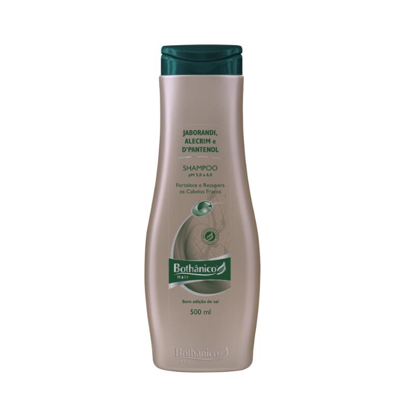 Shampoo Bothânico Hair Jaborandi Alecrim E D-Pantenol 500ml