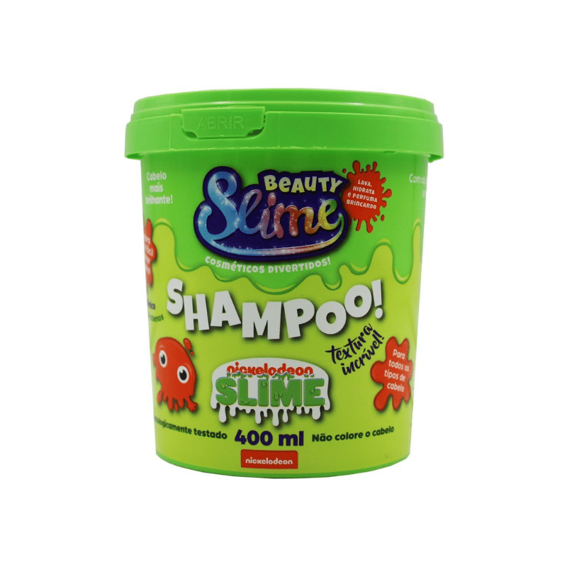 Shampoo Beauty Slime Verde 400ml