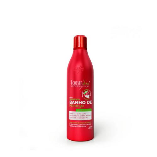 Shampoo Banho Forever Liss De Verniz Morango 500ml