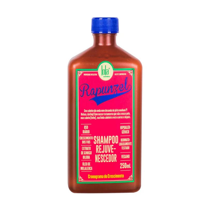 Shampoo Fortalecedor Lola Rapunzel Rejuvenescedor 250ml