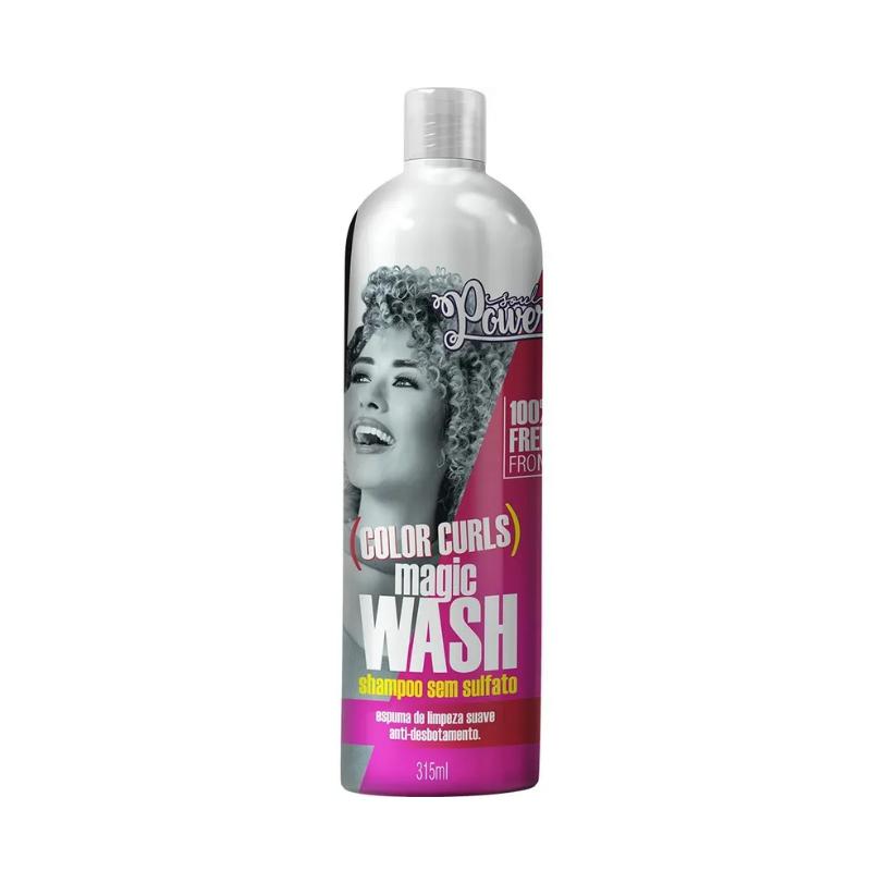 Shampoo Soul Power Color Curls Magic Wasch 315ml