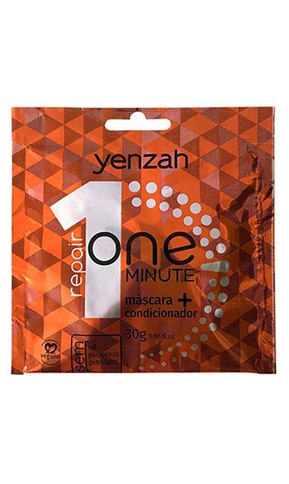 Sachê Yenzah One Minute Máscara + Condicionador Repair 30g