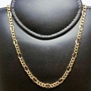 Corrente Folheado Ouro 18k 3x1 70cm