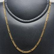 Corrente Folheado Ouro 18k 5x1 70cm