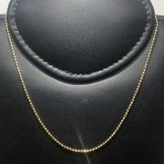 Corrente Folheado Ouro 18k Bolinha 40cm