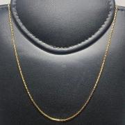 Corrente Folheado Ouro 18k Cartier 70cm