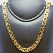 Corrente Folheado Ouro 18k Latinha 60cm