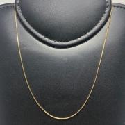 Corrente Folheado Ouro 18k Veneziana 60cm