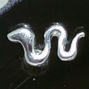 Piercing Tragus Prata 925 Cobra