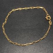 Pulseira Folheado Ouro 18k Cartier 19cm