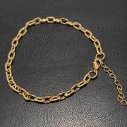 Pulseira Folheado Ouro 18k Cartier 22cm