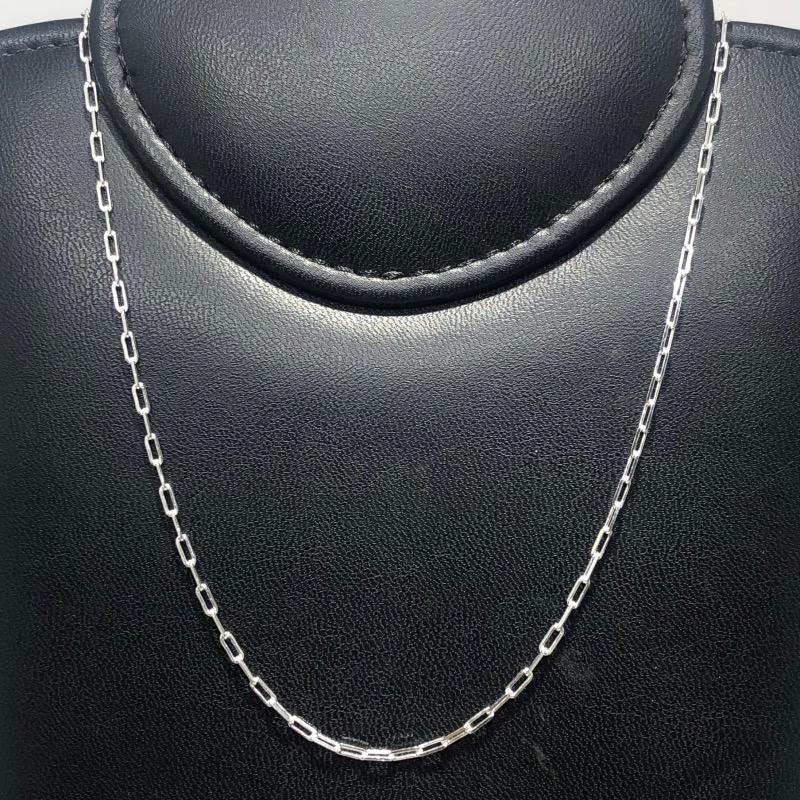 Corrente Em Prata 925 Cartier 80