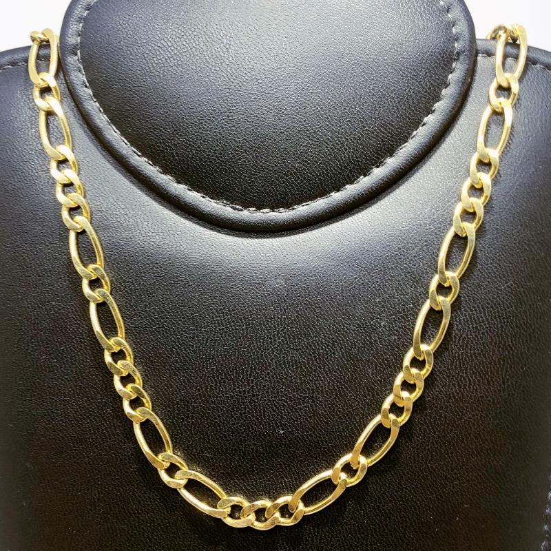 Corrente Folheado Ouro 18k 3x1x1x1 60cm