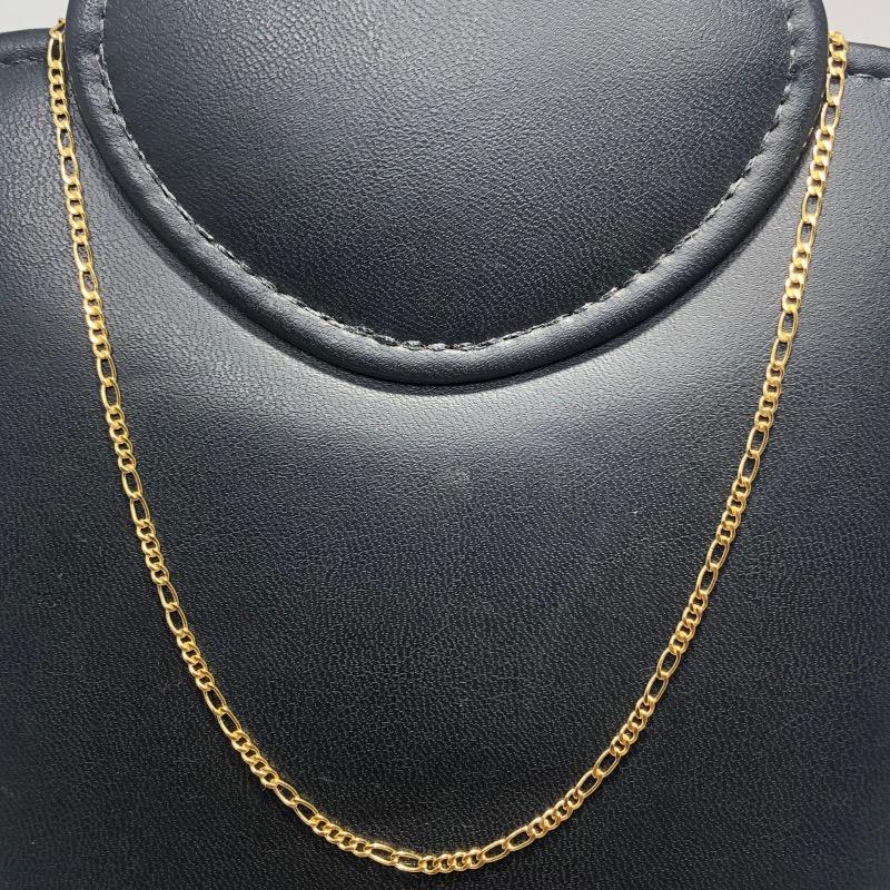 Corrente Folheado Ouro 18k 4x2 60cm
