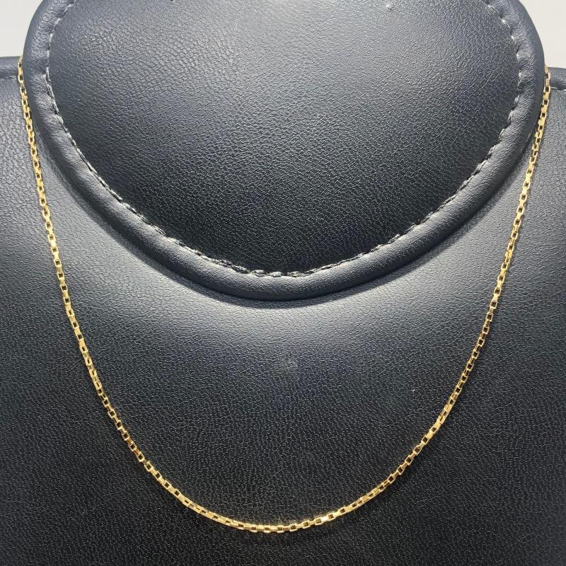 Corrente Folheado Ouro 18k Cartier 40cm