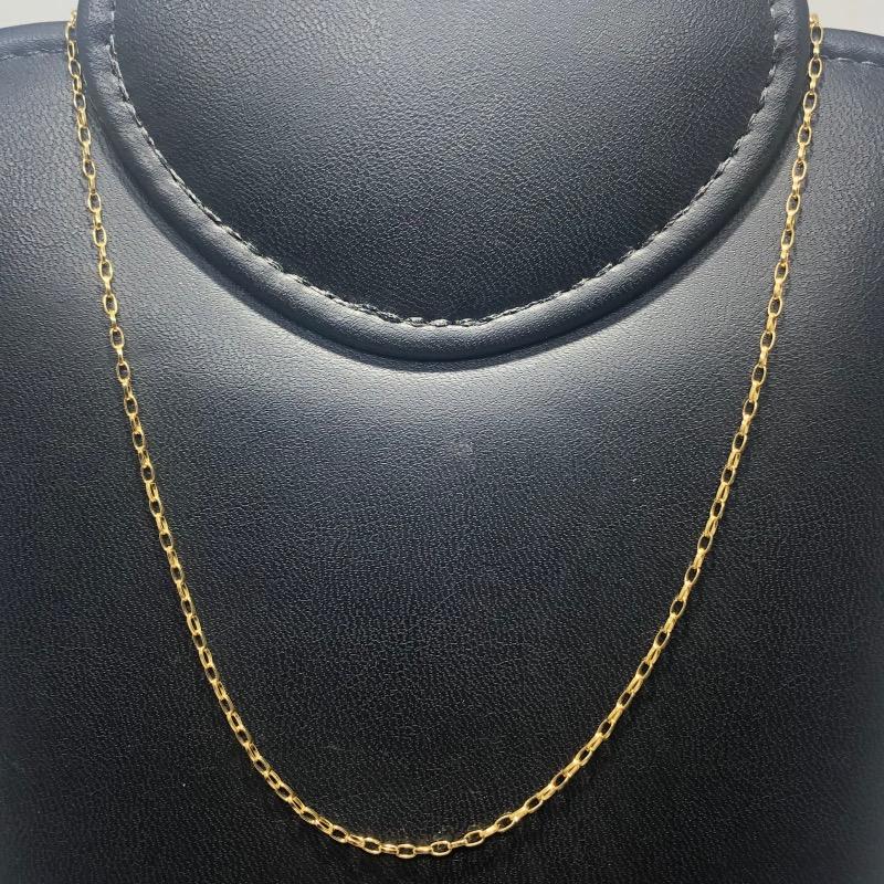 Corrente Folheado Ouro 18k Cartier 45cm