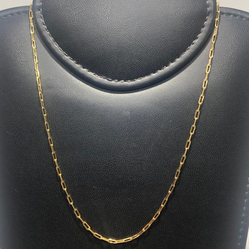 Corrente Folheado Ouro 18k Cartier 60cm
