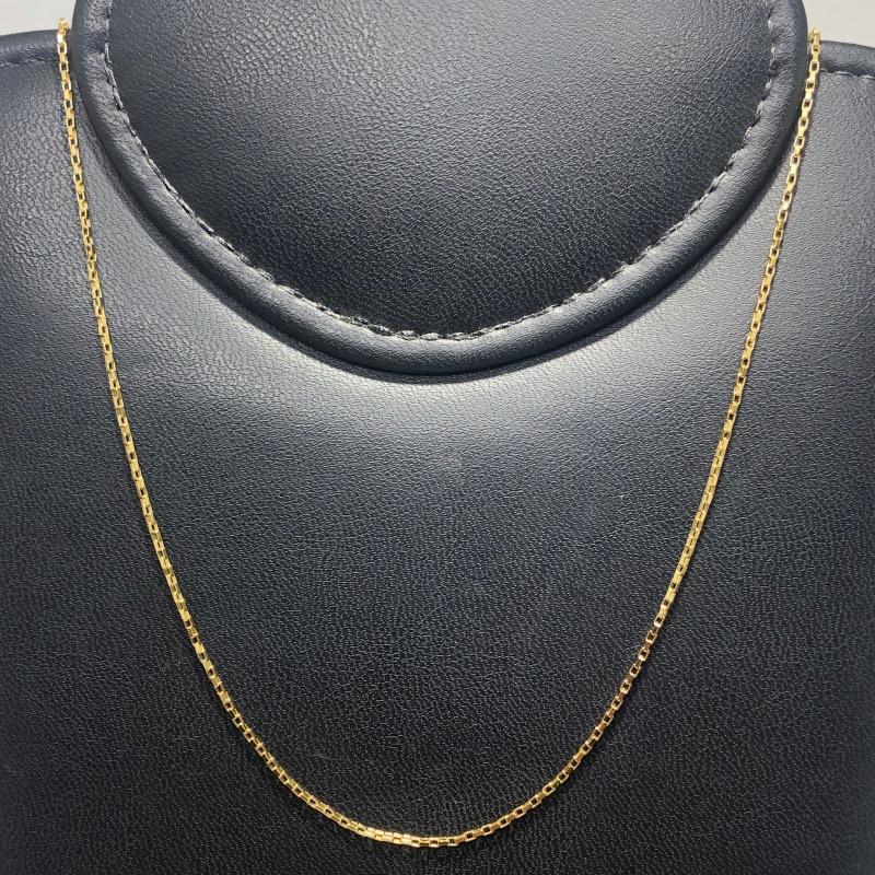 Corrente Folheado Ouro 18k Cartier 80cm