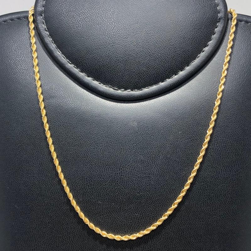 Corrente Folheado Ouro 18k Cordão Baiano 70cm