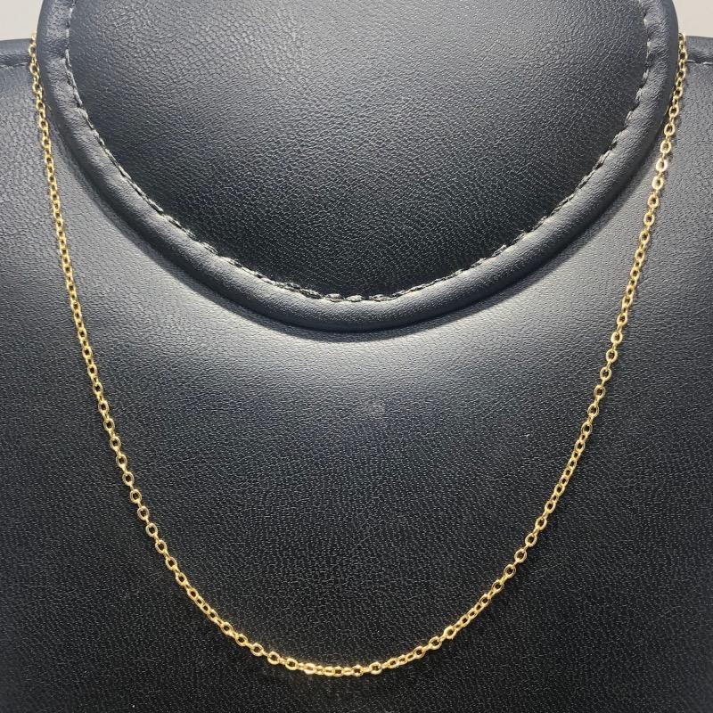 Corrente Folheado Ouro 18k Elo Português 45cm