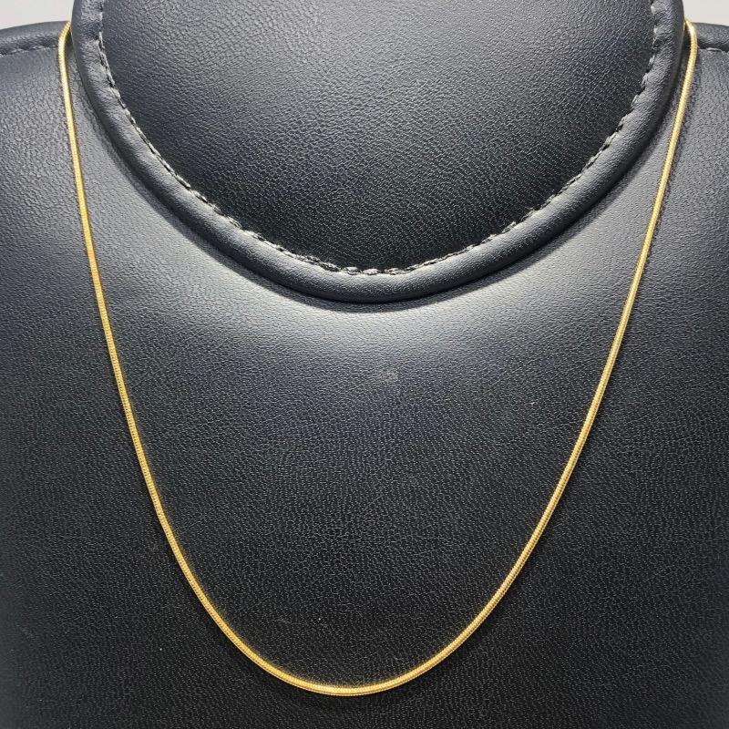 Corrente Folheado Ouro 18k Rabo de Rato 40cm