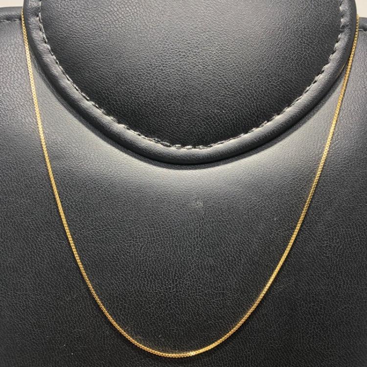 Corrente Folheado Ouro 18k Veneziana 45cm