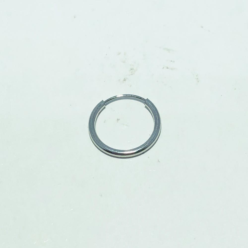 Piercing Argola Aço Liso 10mm
