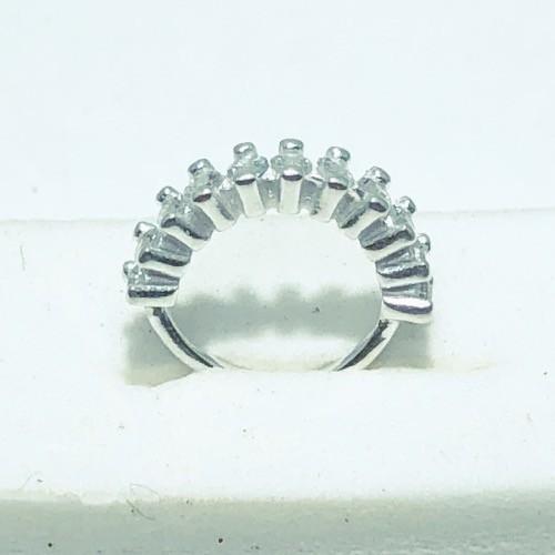 Piercing Prata 925 Helix 10 Zircônias