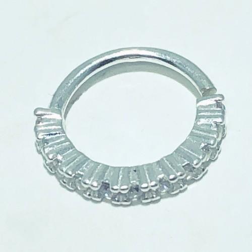 Piercing Prata 925 Helix 11 Zircônias