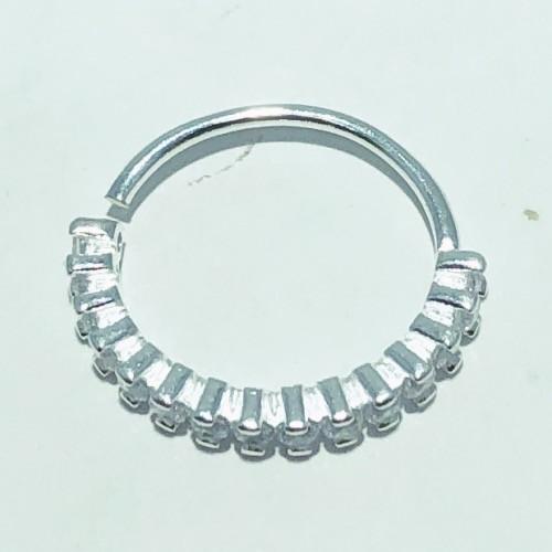 Piercing Prata 925 Helix 14 Zircônias