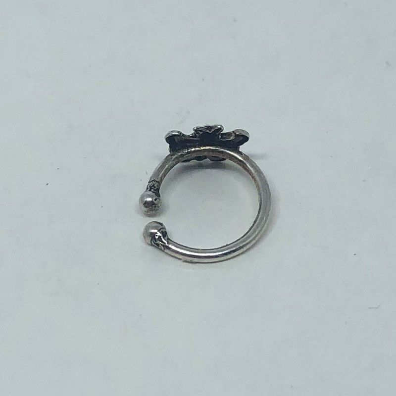 Piercing Prata 925 Pressão Borboleta