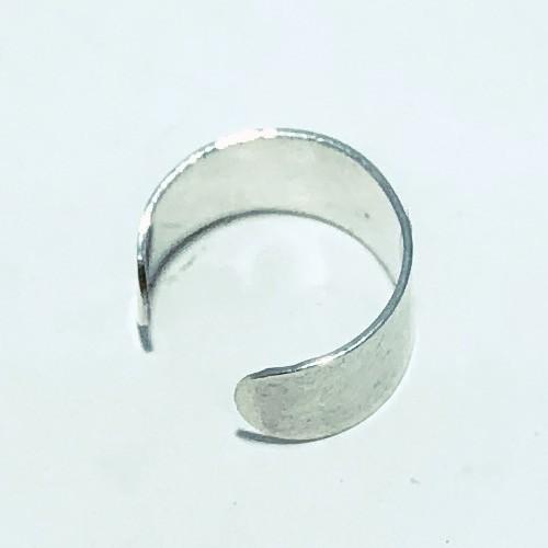 Piercing Prata 925 Pressão Liso Largo