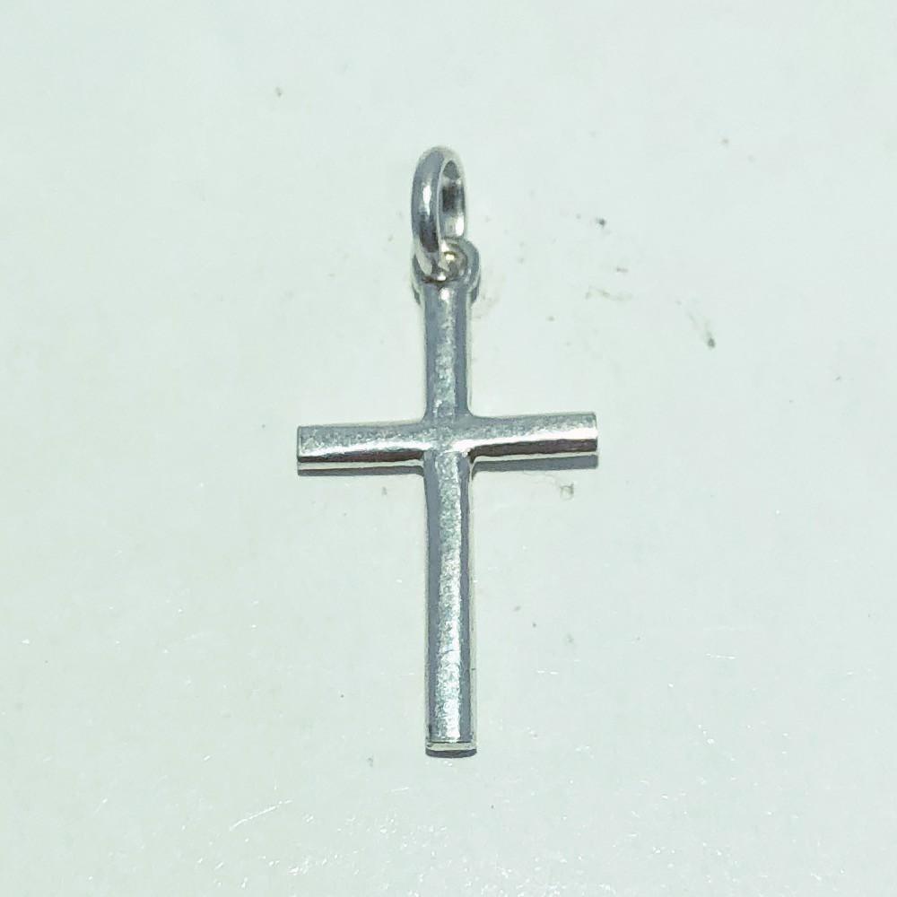 Pingente Prata 925 Cruz Palito Quadrado MD