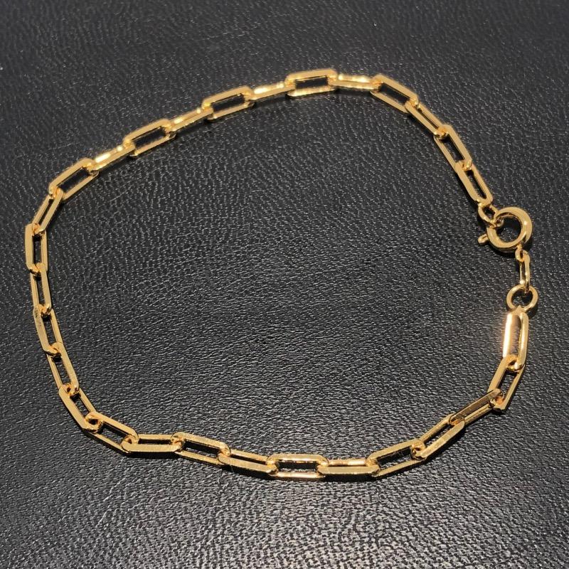 Pulseira Folheado Ouro 18k Cartier 20cm
