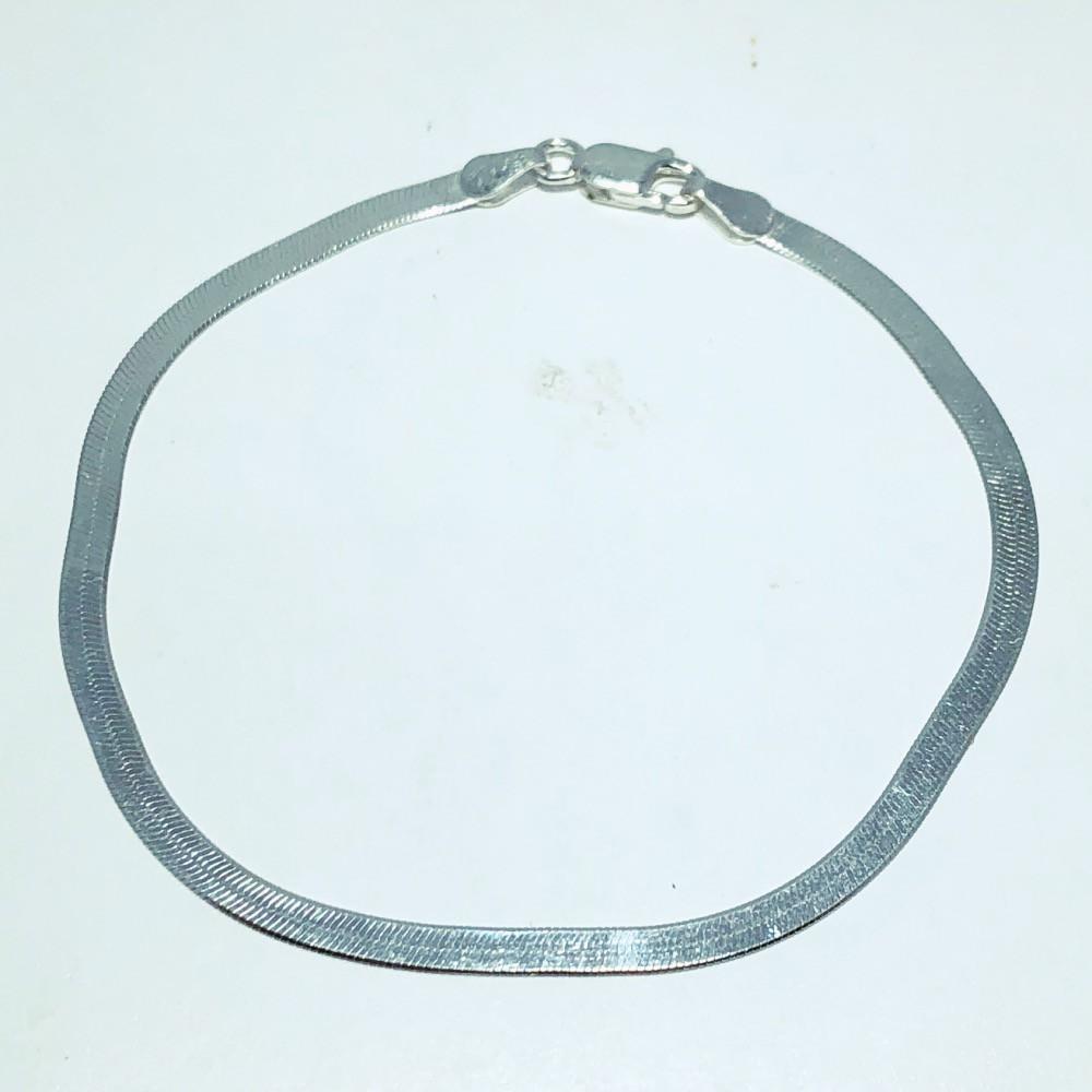 Pulseira Prata 925 Laminada 3mm