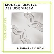 Forma De Gesso 3D em ABS - ABS0171-2MM  45x45cm