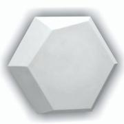 Forma De Gesso 3D em ABS - ABS0030-2MM 28x32cm