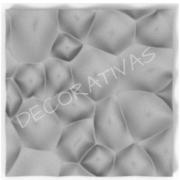 Forma De Gesso 3D em ABS - ABS0033-2MM 29x29cm