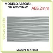 Forma De Gesso 3D em ABS - ABS0054-2MM 45x73cm