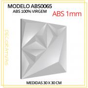Forma De Gesso 3D em ABS - ABS0065-1MM 29x29cm