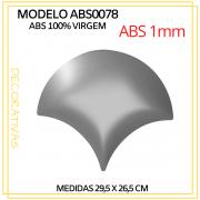 Forma De Gesso 3D em ABS - ABS0078-1MM 29,5x26,5cm