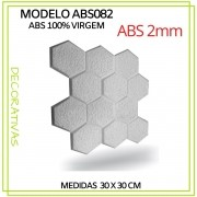 Forma De Gesso 3D em ABS - ABS0082-2MM 29x29cm