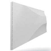 Forma De Gesso 3D em ABS - ABS0087-2MM 29X21,5cm
